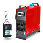 New 12V 5KW Diesel Air Heater Parking Heater All In One LCD Display with Remote control