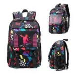 New BIKIGHT Men Smart Sound Control Noctilucent Backpack USB Charge Laptop Travel School Bag
