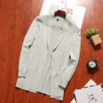 New Mens Casual Soft Mid Length Cardigans
