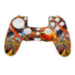 New Camouflage Army Soft Silicone Gel Skin Protective Cover Case for PlayStation 4 PS4 Game Controller