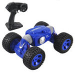 New 9901 1/16 2.4G 4WD Double Sided Stunt Rc Car One Key Transformation Off-road Truck