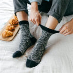 New Mens Warm Breathable Cotton Middle Tube Socks