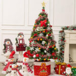 New 3-7ft Pre-Lit Fiber Optic Artificial Christmas Tree Decoration LED Multicolor Lights Stand