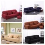 New 4 Seat Sofa Cover Slipcover Stretch Elastic Couch Furniture Protector Chair Covers