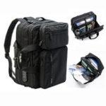 New Men Anti-theft Briefcase Expandable Multi-pocket Bag