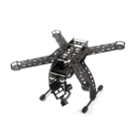 New GARTT MERCURY-X4.0 390mm 9 inch Carbon Fiber Frame Kit for RC FPV Racing Drone