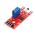 New 3pcs KY-028 4 Pin Digital Temperature Thermistor Thermal Sensor Switch Module For Arduino Raspberry