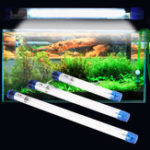 New 5W 7W Aquarium Ultraviolet Sterilizer Light Fish Tank Water Clean Lamp AC110V / AC220V