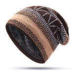 New Unisex Winter Warm Vintage Spiral Knitted Hat Beanie Cap