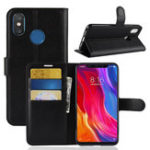 New Bakeey Flip Card Slot With Stand PU Leather Case Protective Case For Xiaomi Mi 8