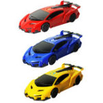 New 1PC XZS Wireless Control Defying Land Wall Climbing Rc Car Stunt Vehicle W/ Light Rechargable Toy
