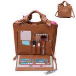 New Brenice Women Cosmetic Handbag Multifunction Crossbody Bag
