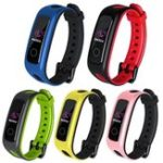 New Bakeey Replacement Silicone Watch Band Strap for Huawei Smart Watch Band 4 Running Version