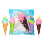 New Squishy Ice Cream 30*10*9.5CM Jumbo Decoration With Packaging Gift Collection Slow Rising Jumbo Toys