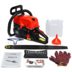 New 5200W 68CC Gasoline Chainsaw 20 Inch 2-Stroke Gasoline Petrol Chain Saw Wood Cutting