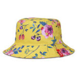 New NUZADA Unisex Print Double-Sided Wear Bucket Hat