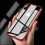 New Bakeey Clear Plating Soft TPU Protective Case For iPhone X/XR/XS/XS Max