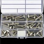 New M6 T-Bolt 304 stainless Steel 16-40mm Aluminum Profile Slot T Screw Fastener