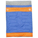 New Outdoor Camping 2 People Double Sleeping Bag Waterproof Thermal Folding Sleeping Pad