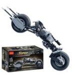 New Decool 7115 338pcs Car Motorbike Model Building Blocks Toys Sets DIY Toys With Original Packing