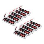 New 10Pcs URUAV 3.8V 450mAh 50/100C 1S HV 4.35V Lipo Battery PH2.0 for Emax Tinyhawk Happymodel Snapper7