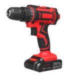 New 28V Cordless Electric Power Drills Driver Tools 25+1 Clutches Lithium Electric Drill