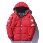 New Mens Winter Padded Jacket Thick Warm Windproof Outdoor Parka