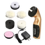 New Portable Handheld Shoe Brush Rechargeable Automatic Electric Shoe Cleaning Brush Shine Polisher