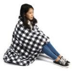 New 12V Fleece Electric Car Heated Blanket Cushion Travel Winter Warm Cover Mat