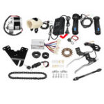 New 24V 250W Motorized Electric Bike Motor Controller With Charger E-Bike Scooter Conversion Kit