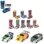 New 1PC FengQi Toys 8803 1/63 Radio Control Coke Mini Rc Car Micro Racing Vehicle Random Color