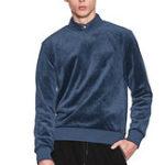 New Mens Comfy Breathable Round Collar Warm Sweatshirt