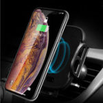 New Universal Infrared Sensor Auto Lock Qi Wireless Charging Car Phone Holder for iPhone 8 XS S8 S9
