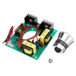New 220V 50W Ultrasonic Generator Power Supply Module + 1pc 40K Ultrasonic Transducers Vibrator