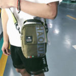 New Men Leisure Letter Pattern Shoulder Bag Crossbody Bag