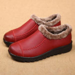 New Plus Size Slip On Casual Comfortable Fur Snow Boots