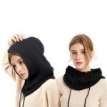 New Unisex Winter Wool Knitted 1-piece Earmuffs Muffler Hat