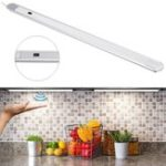 New DC12V 40CM 5.6W Hand Wave 24 LED Under Cabinet Rigid Strip Light for Bar Kitchen Bathroom Home Decor