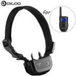 New Digoo DG-PPT1 Rechargeable Pet Trainer Waterproof Stop Barking Collars Remote Dog Training Collar