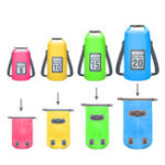 New SGOODE 20L PVC Double Shoulder Outdoor Waterproof Bags Ultraligh Hiking Camping Swimming Pouch Bag Backpack Pool Accessories