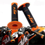New 7/8″ Motorcycle Rubber Hand Grip Handlebar Gel for KTM DUKE125 200 390 Modified