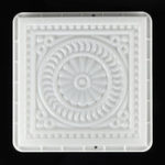 New 32x32cm Square Path Maker DIY Plastic Mold Road Paving Cement Stone Mould Brick