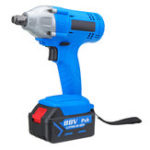 New 88V 12000mAh Brushless Impact Wrench Electric Cordless Li-Ion Battery Drive Impact Wrench Drill 340 N.M 4-26mm