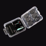 New 100pcs Memory Card Storage Box Case Organizer for SD Card TF Card Memory Stick