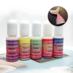 New 5 Colors 10g Polarization Pearl Dye Pigment UV Resin Starry Sky Colorant Liquid DIY Making Crafts