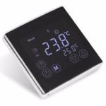 New Weekly Programmable Underfloor Heating Thermostat LCD Touch Screen Room  Digital Thermometer Thermostat White Backlight