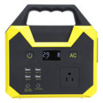 New UPS 110V Energy Storage Portable Power Solar Generator Power Supply 40800mah 150W Inverter Emergency Power Station