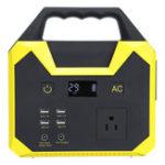 New UPS 110V Energy Storage Portable Power Solar Generator Power Supply 40800mah 150W Inverter Emergency Power Station
