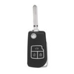 New 3 Buttons Folding Remote Key Case Shell with Blade for Toyota Camry Corolla Reiz RAV4