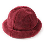 New Women Winter Thick Warm Cashmere-like Bucket Cap